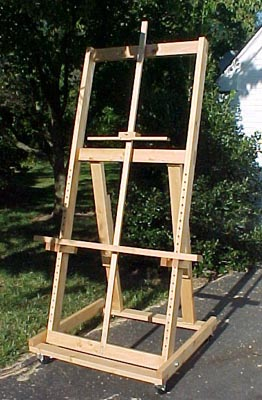 making your own easel